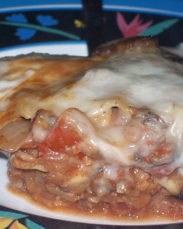 Cream of Mushroom Lasagna