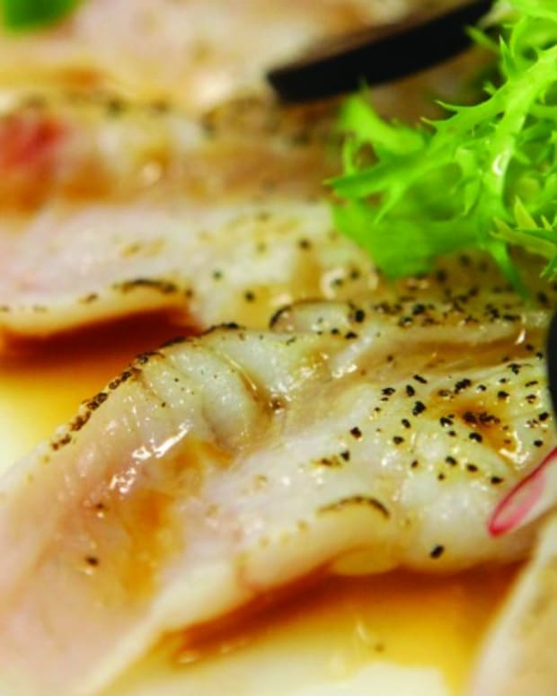 Seared Summer Flounder
