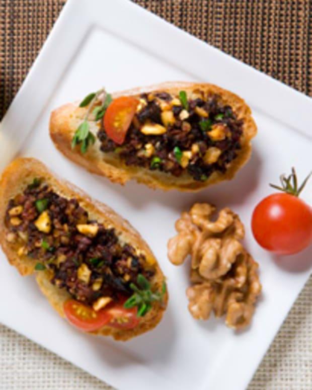 Walnut, Black Olive and Dried Tomato Spread