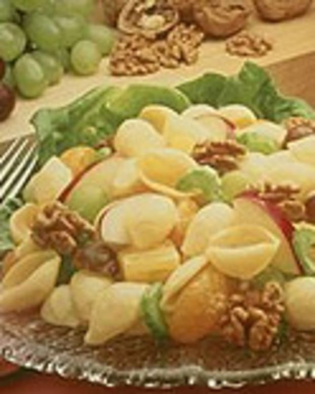 Pasta and Walnut Fruit Salad
