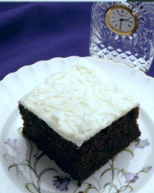 Whole Wheat Chocolate Sheet Cake