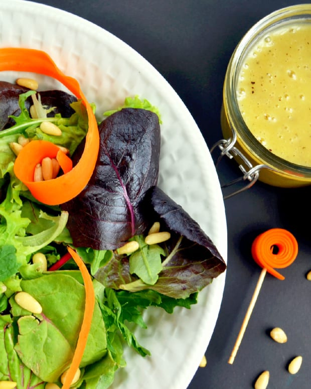 Honey Lime vinaigrette dressing