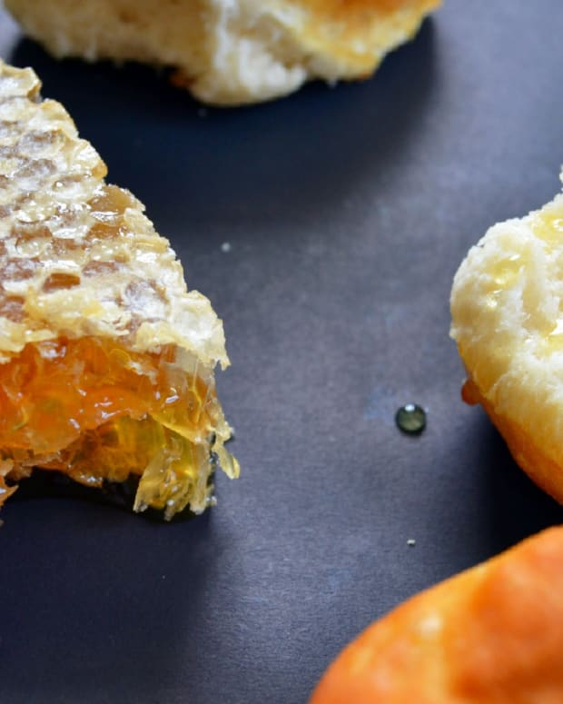 bee bread honeycomb