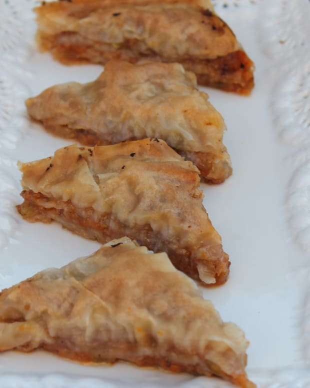 Sweet Potato Baklava