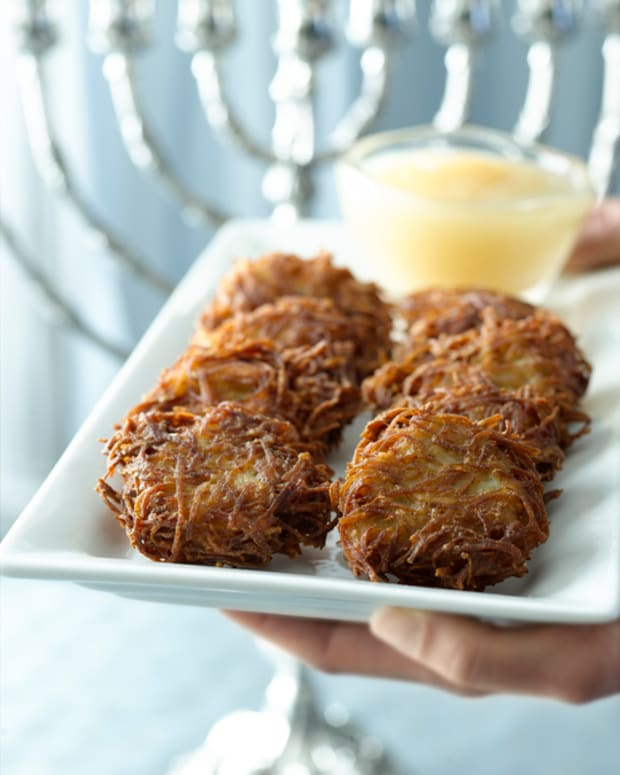 The Best Potato Latkes