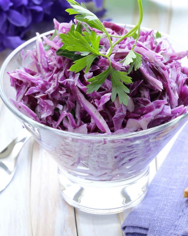Red Cabbage Israeli Slaw