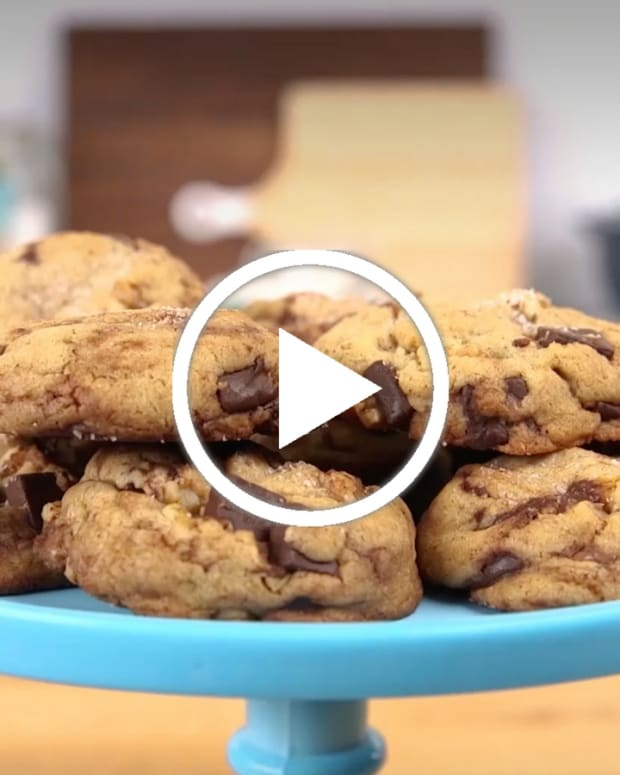 brown butter cookies video