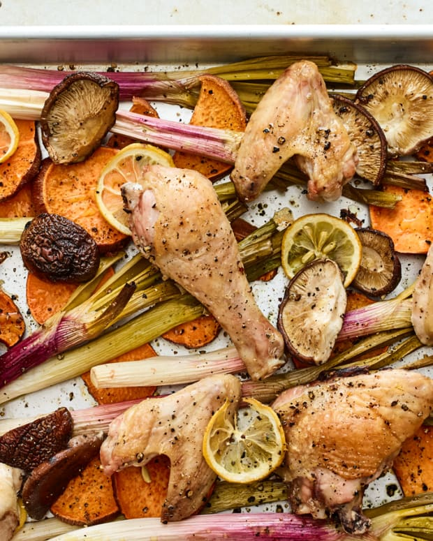 sheet pan roasted chicken