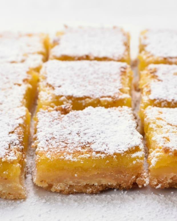 Passover Gluten Free Lemon Bars