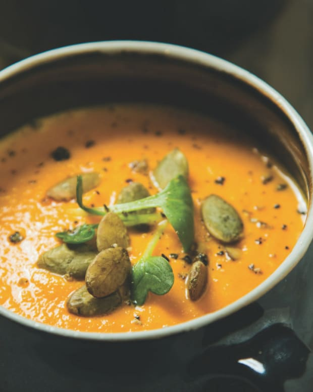 carrot gazpacho