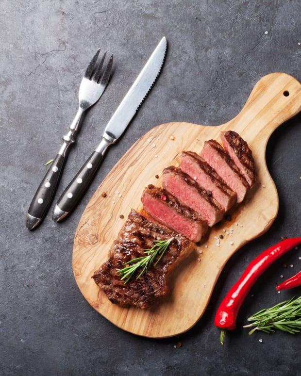 Pairing wine with steak