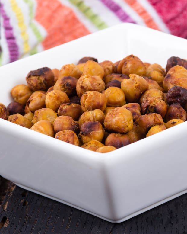 Honeyed Chickpeas (Nahit)