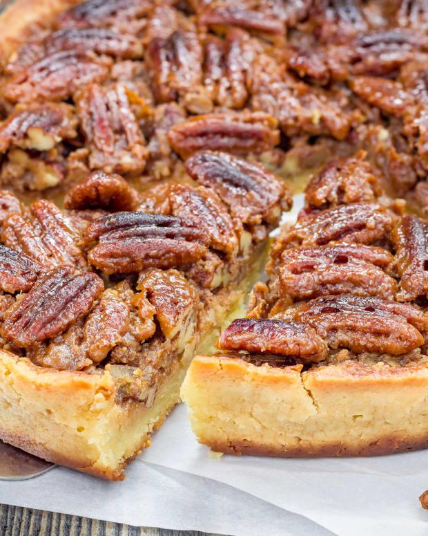 Ambrosia Pecan Pie