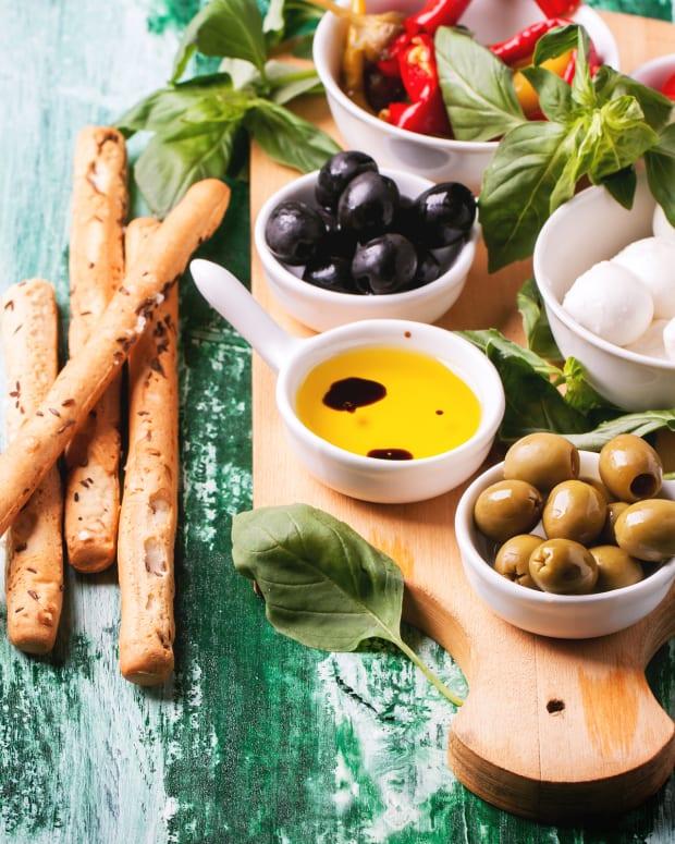 antipasto platter dairy
