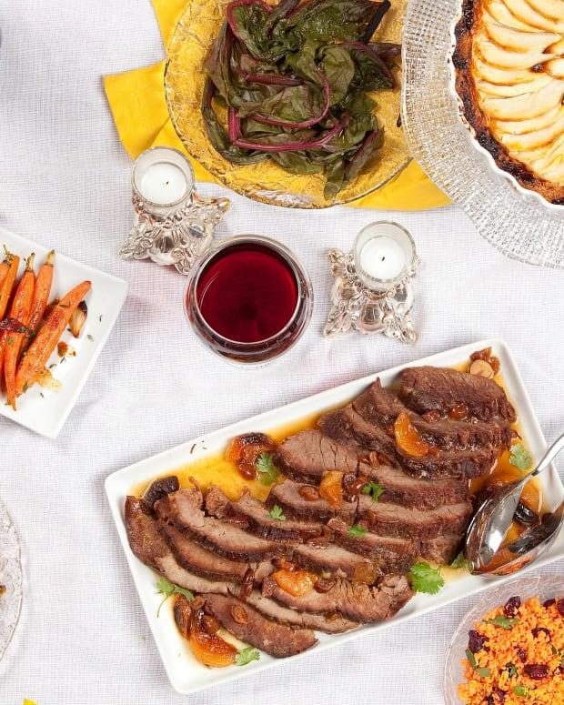 Joan Nathan's Traditional Rosh Hashanah Menu