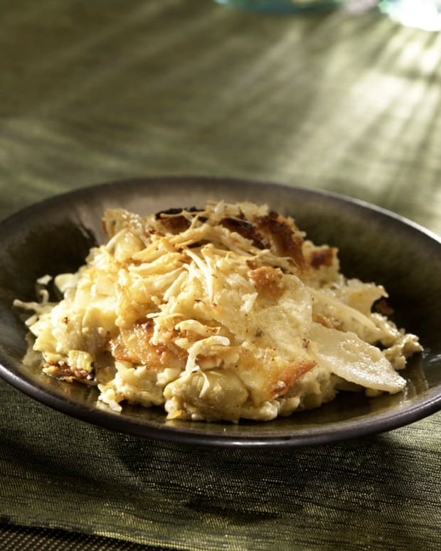 Artichoke Dauphinoise Potatoes