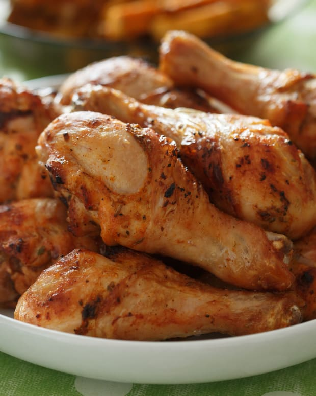 Anise-Adobo Chicken Drumsticks