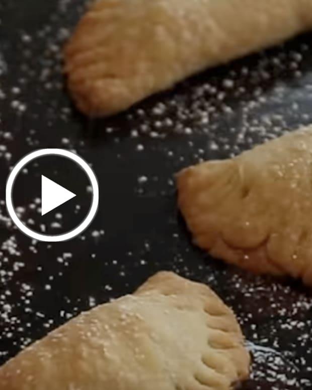 apple Hand Pies Video for Rosh Hashanah