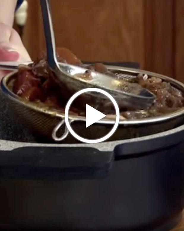 How To Strain and Reduce Sauce for Brisket Gravy