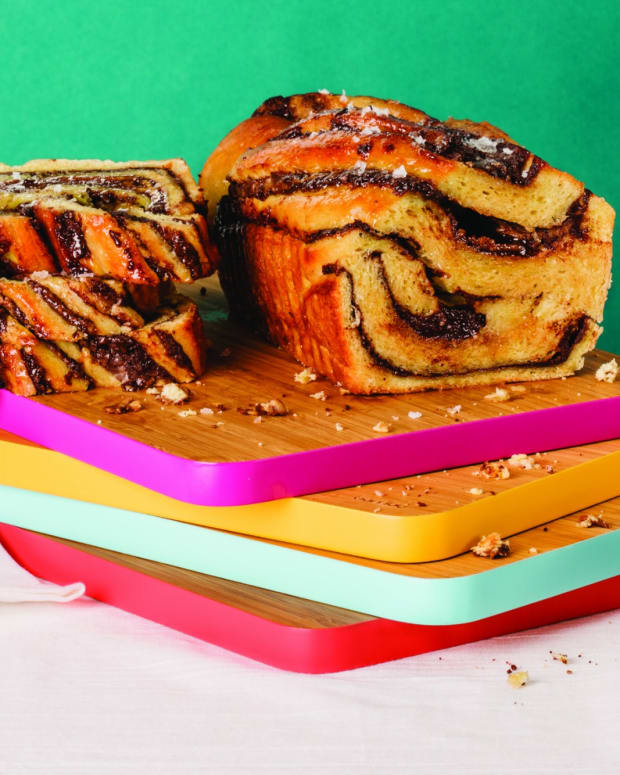 Peanut Butter and Dark Chocolate Babka wide