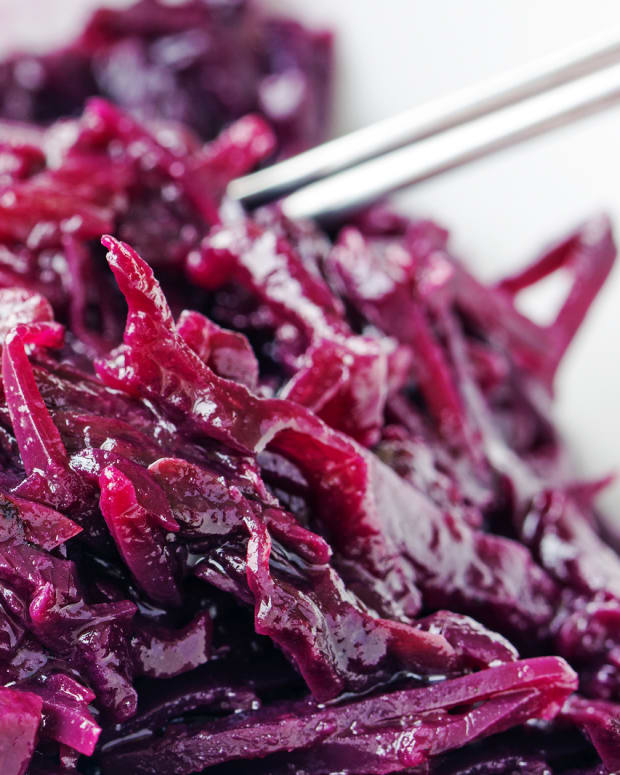 Easy German Red Cabbage
