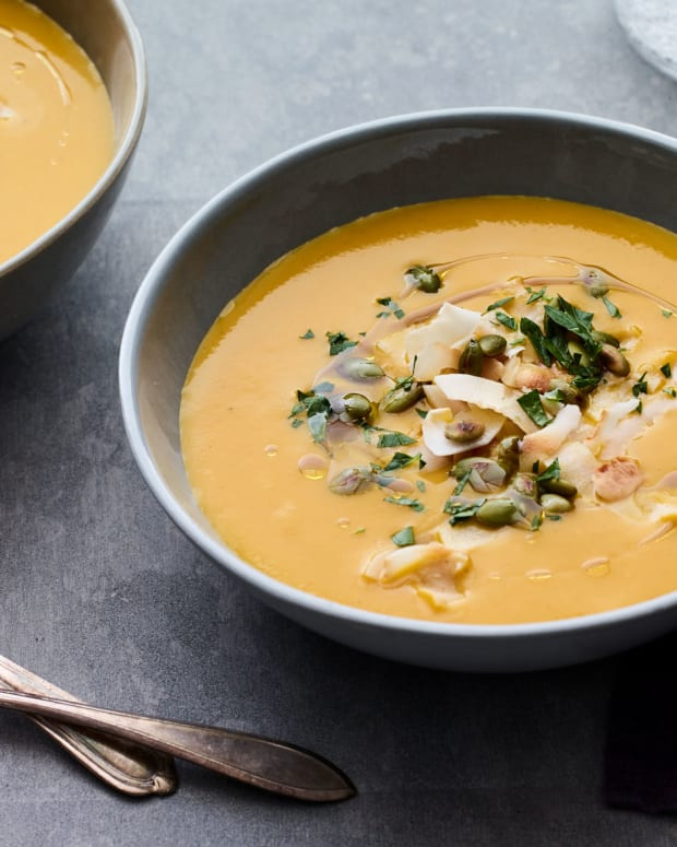 Butternut Squash Turmeric Soup