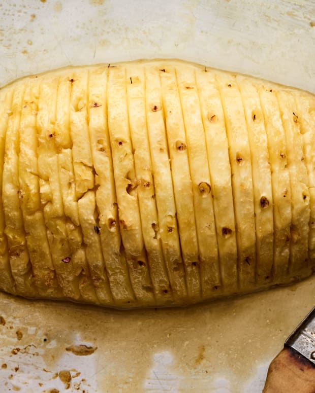 Hasselback Pineapple