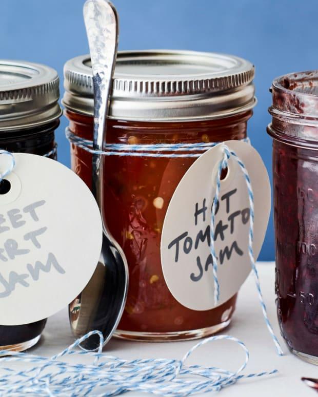 jars of boozy jams
