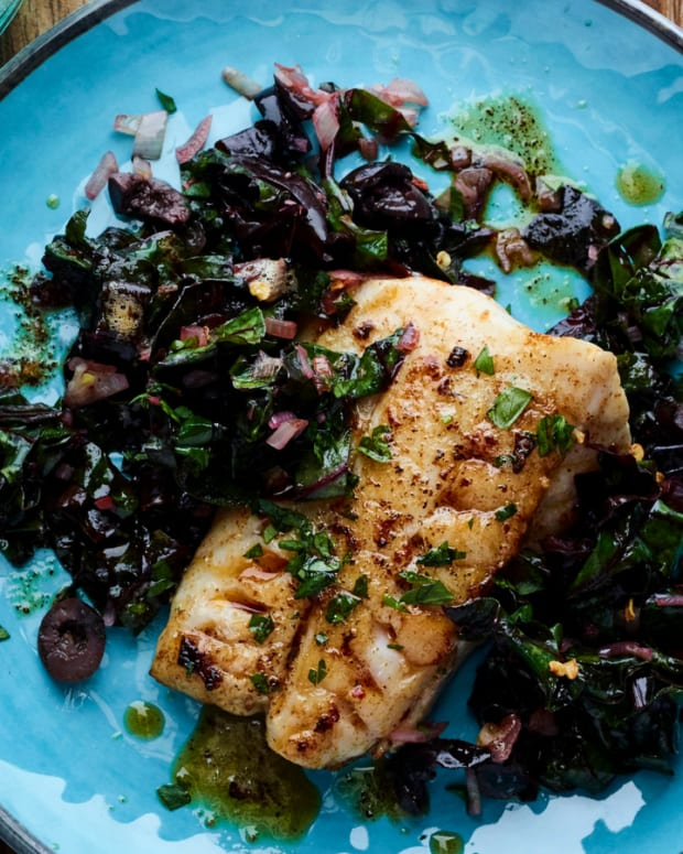 Brown Butter Halibut