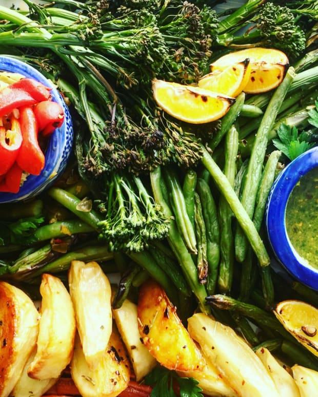Summer Vegetable Board