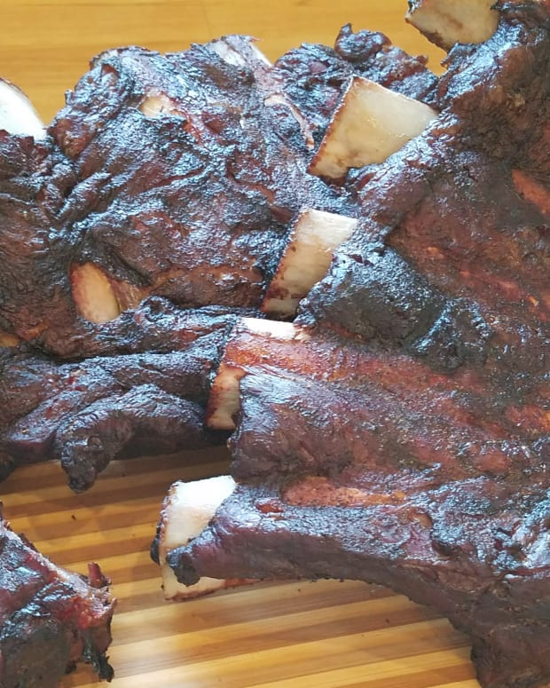 Roasted Beef Back Ribs