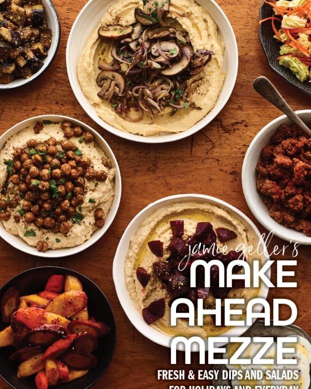 make ahead mezze, dips, salads, spreads, recipe ebook