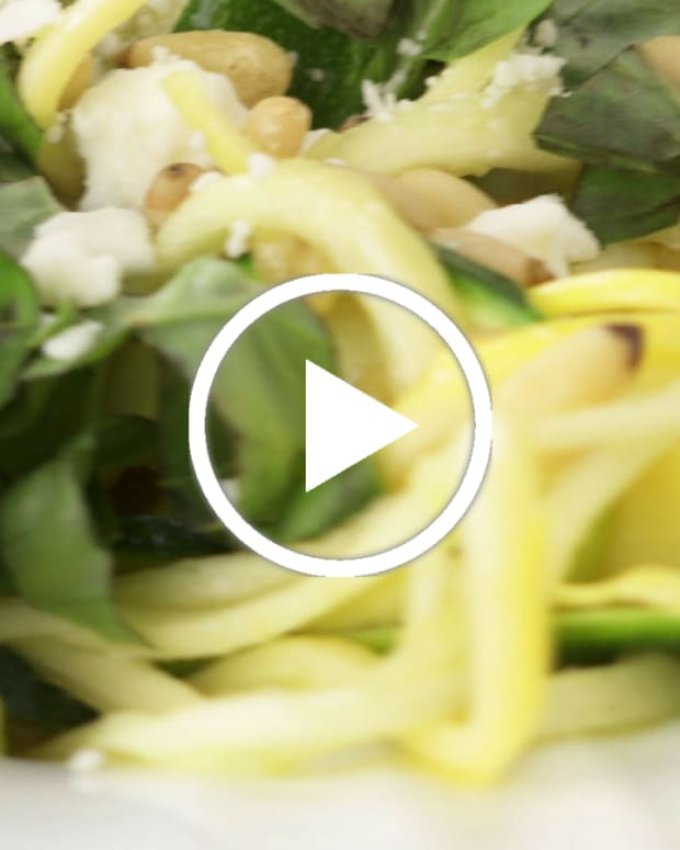 zucchini ribbons