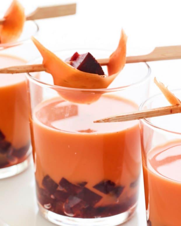Carrot Beet Borscht