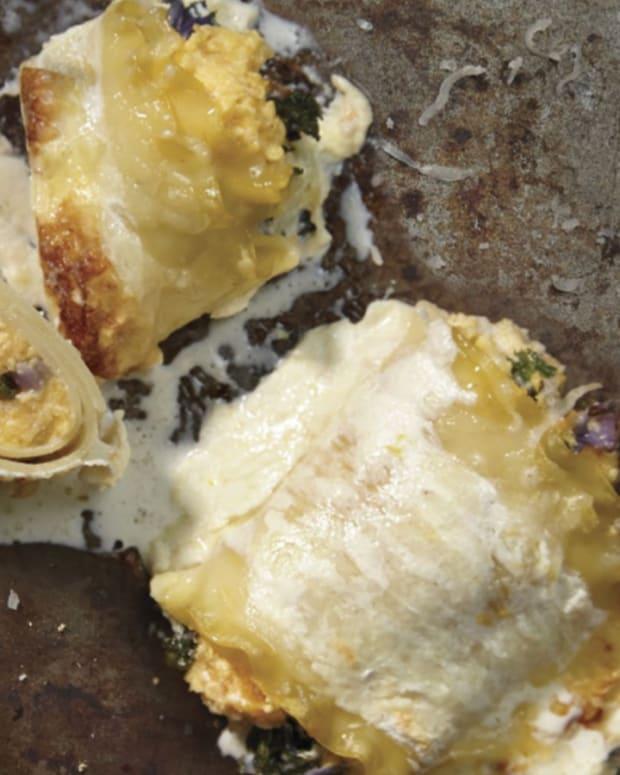 butternut sqush roll ups