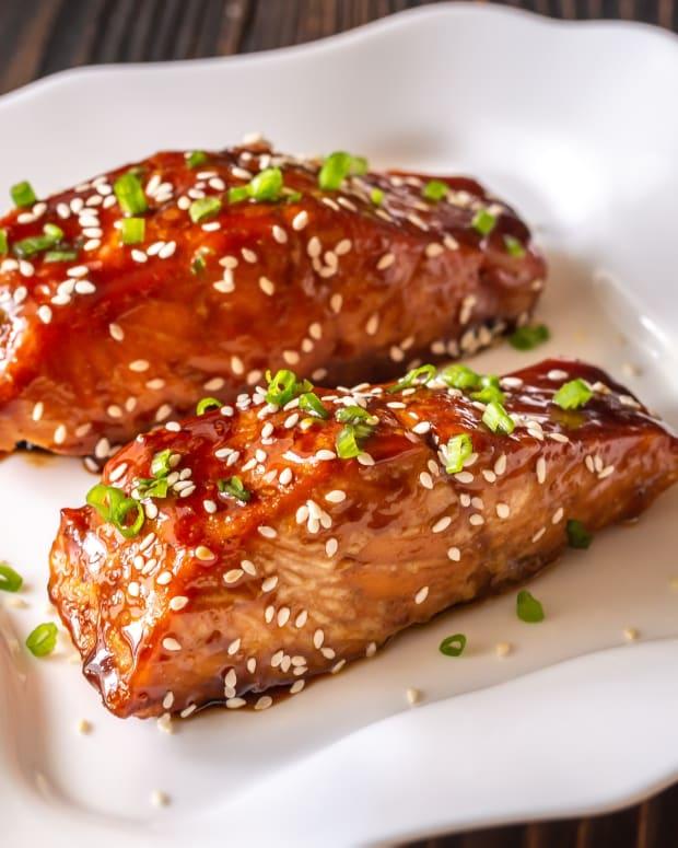 Teriyaki Elegant Salmon