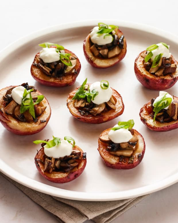 Asian Potato Skins