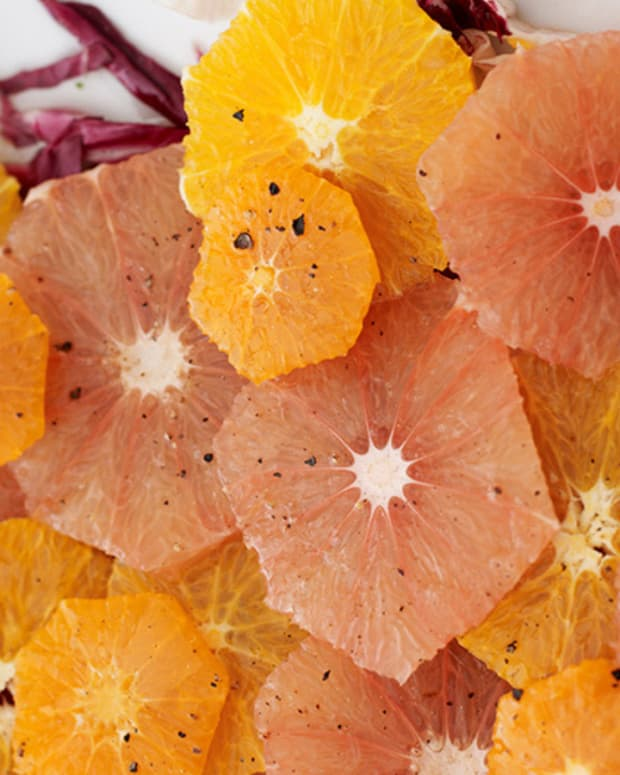 Winter Citrus Salad Wide
