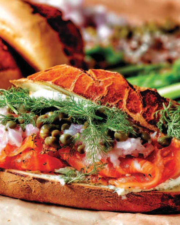 Brioche Lox Sandwich