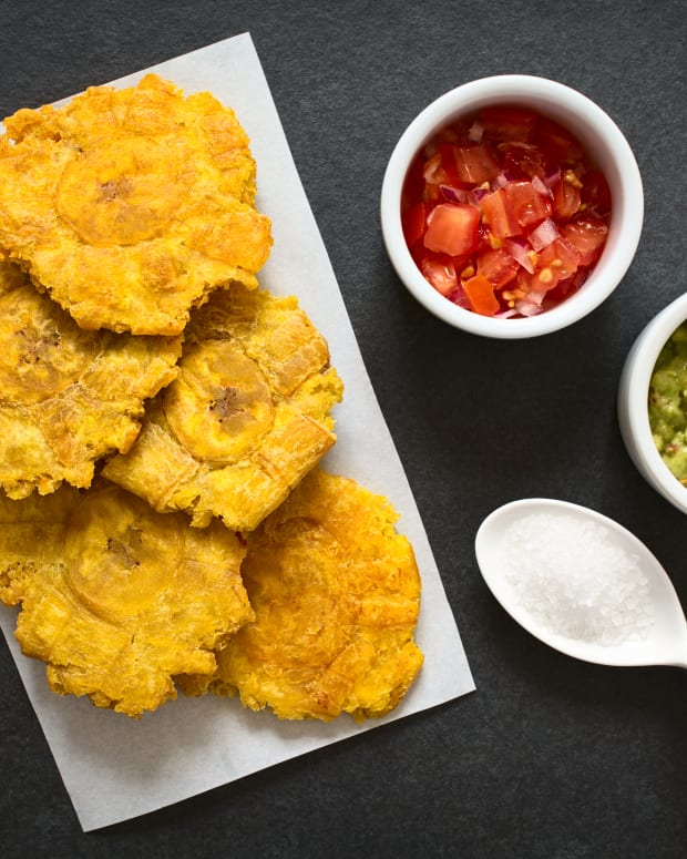 Oven Fried Tostones Recipe