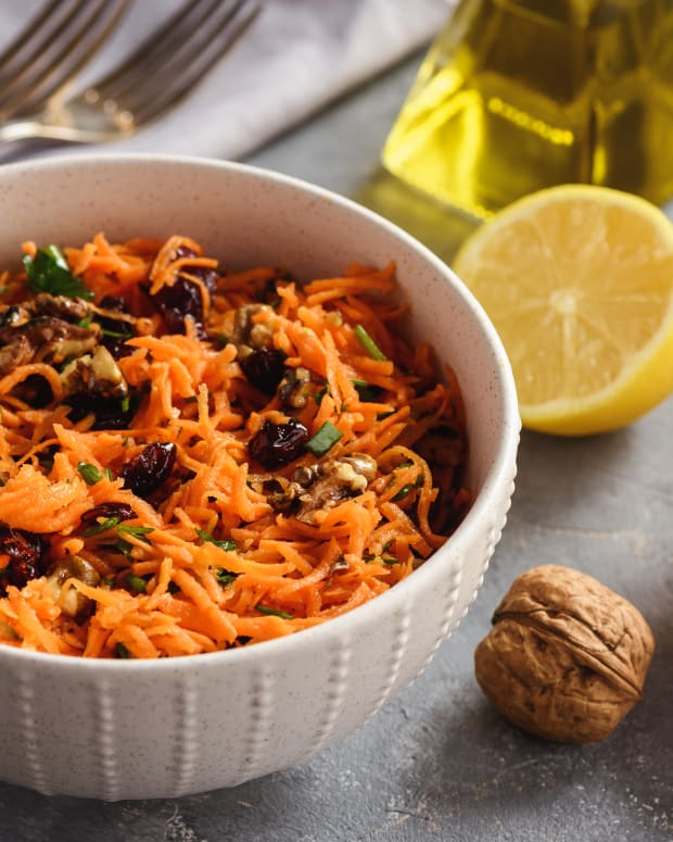 Sweet Potato and Ginger Slaw Two Ways