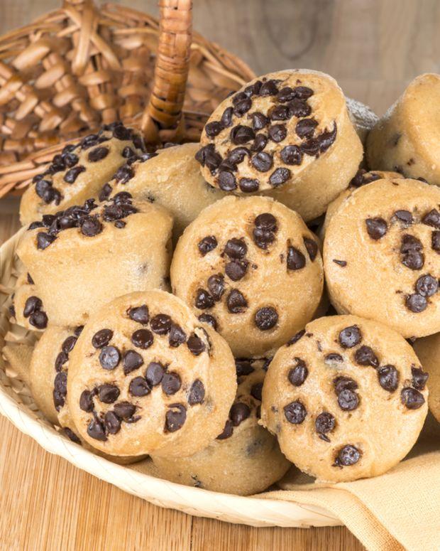 chocolate pumpkin chip muffins