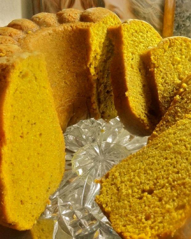 pumpkin pie spice cake