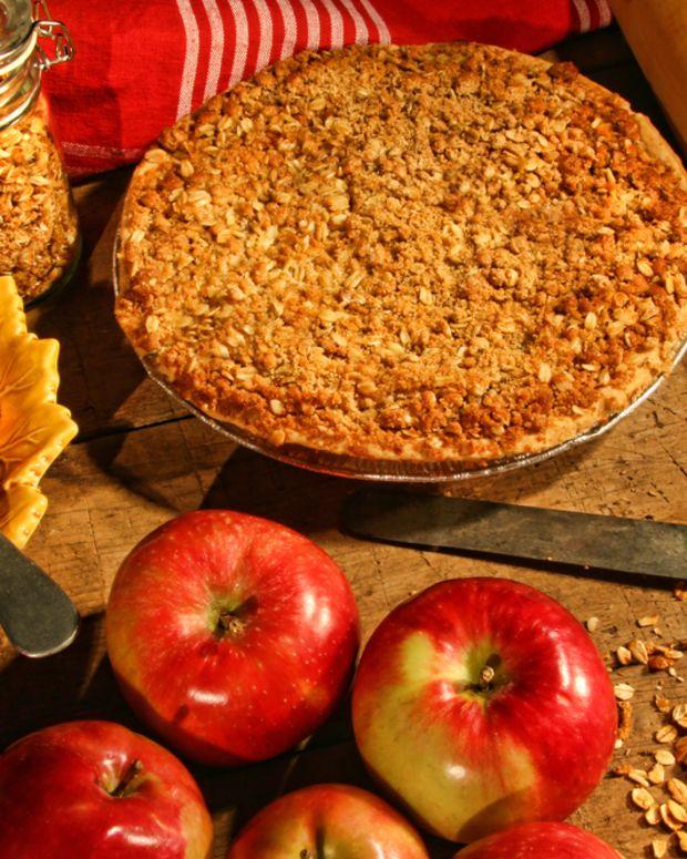 cranberry apple tort