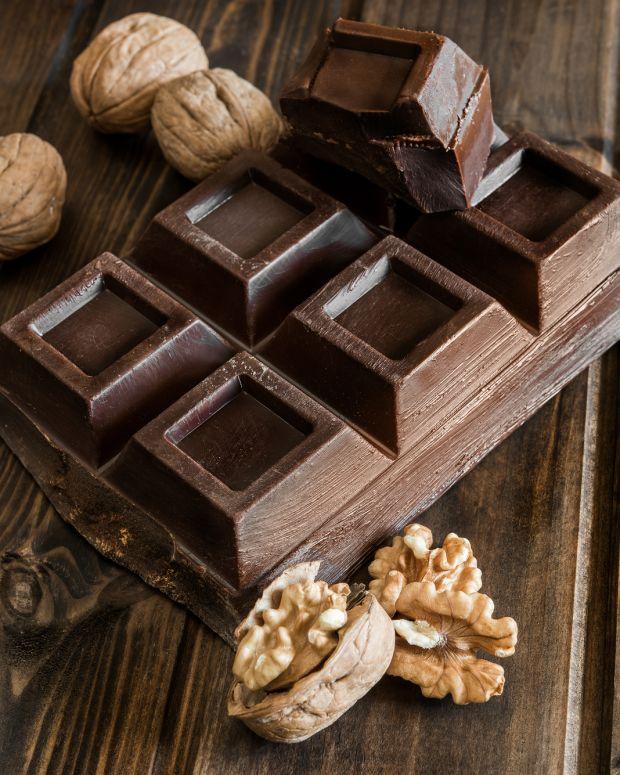 chocolate and coffee walnuts
