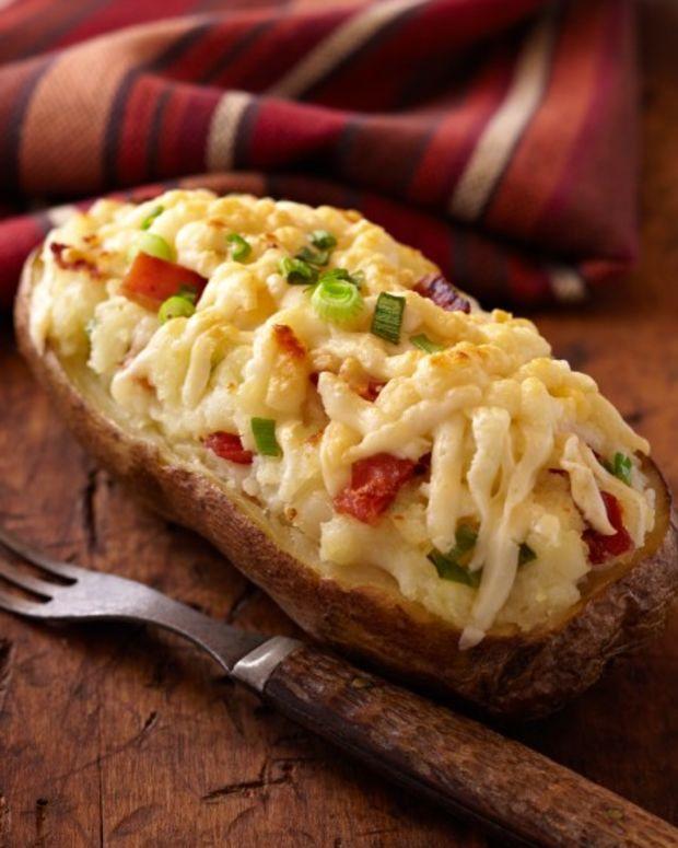 twice baked idaho potatoes