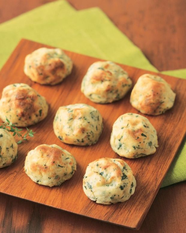 idaho potato spinach balls