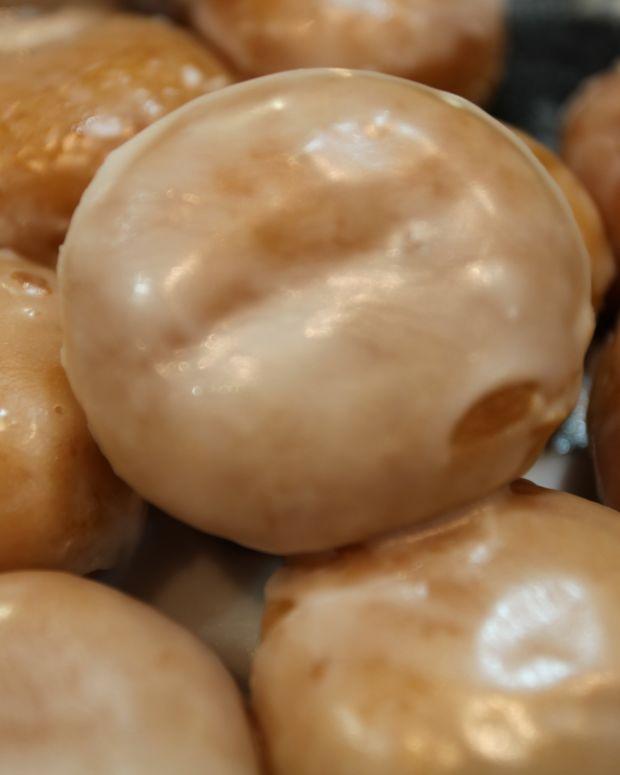 Idaho potato doughnuts