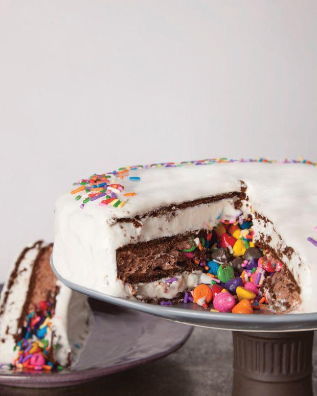 ice cream surprise cake