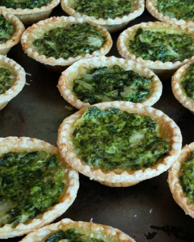 PARVE SPINACH PIES